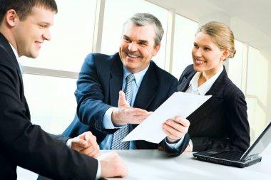 Explaining business instructions