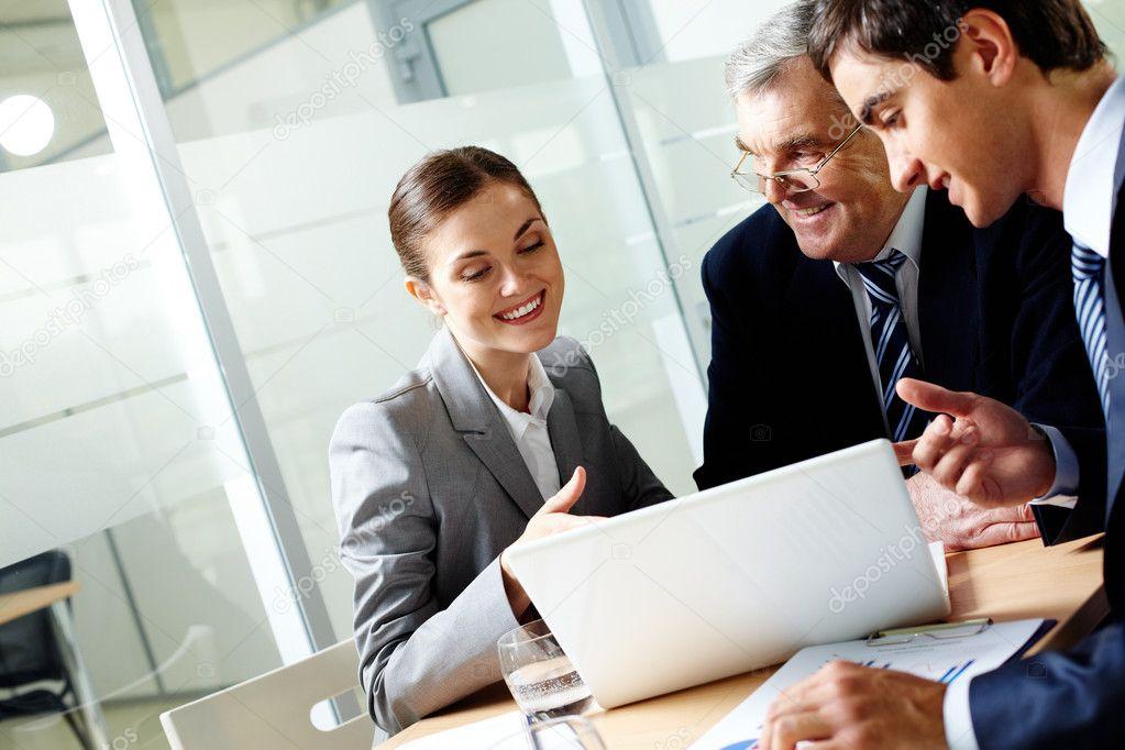 Successful businessteam office