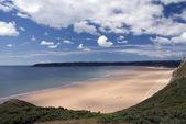 Oxwich Bay - Gower-Halbinsel. Wales