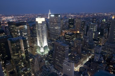 New York by Night from the top of the Rockefeller