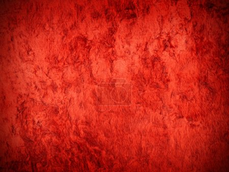 Photo pour Fond de luxe de velours rouge texture closeup - image libre de droit