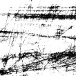 Black and white scratches abstract background...