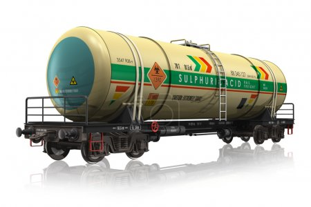 Chemical railroad tank car