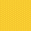 Seamless pattern of a honeycombs