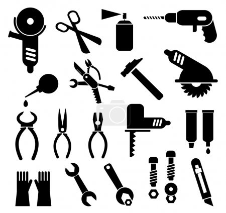 Tools - vector icons