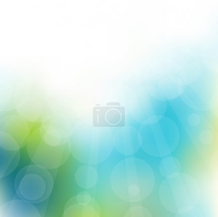 Illustration for Abstract light background. Vector illustration - Royalty Free Image