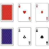Vector Playing card set 02