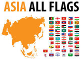 Asia All Flags