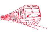 Train Contour
