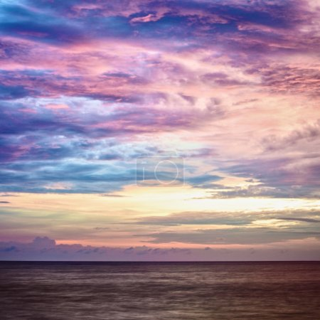 Photo for Beautiful sunset over Andaman Sea, in Thailand - Royalty Free Image