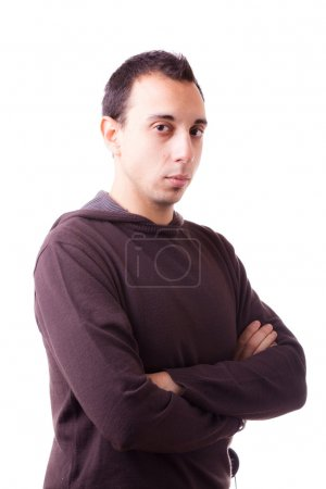 Photo for Serious Young Man Portrait - Royalty Free Image
