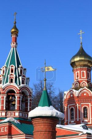 Decoration of Znamenskaya Church