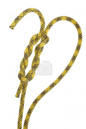 Rope with a knot