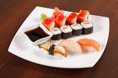 Sushi na desku