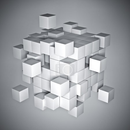 Cube abstract