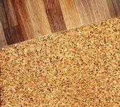 parquet en chêne et cork flooring texture