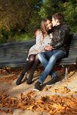 Romantikus pár: ősszel, Ismerkedés