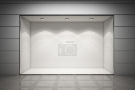 Photo for An empty storefront of shop - Royalty Free Image
