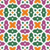 Seamless traditional floral vector islamic ornament - girih texture 2