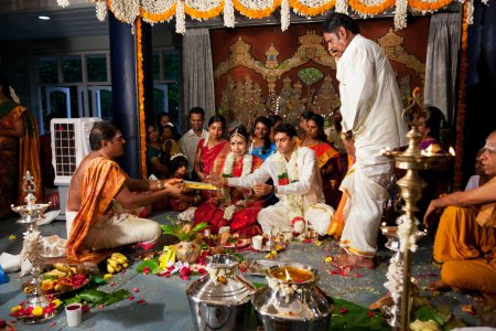 CHENNAI, INDIA - AUGUST 29: Indian (Tamil) Traditional Wedding C
