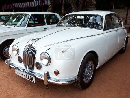 CHENNAI - INDIA - JULY 24: Jaguar (retro vintage car) on Heritag