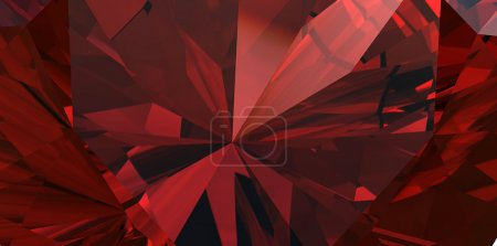 Close-up background of garnet gemstone...