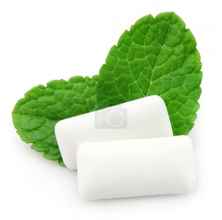 Chewing gum menthol