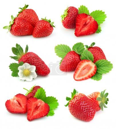 Collection of strawberry