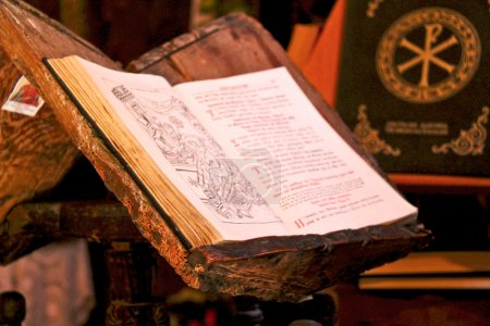 Ancient Greek Orthodox Holy Bible