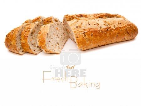 Fresh-baked loaf
