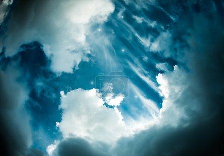 Photo pour Photo du ciel avec les étoiles - image libre de droit