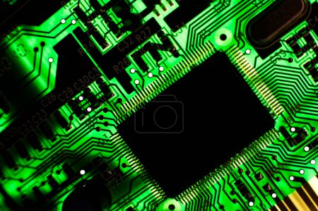 Photo for Electronic board - Royalty Free Image