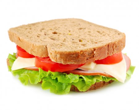 Sandwich isolated on white...