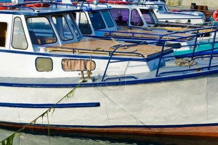 Photo for An image of a ships in row - Royalty Free Image