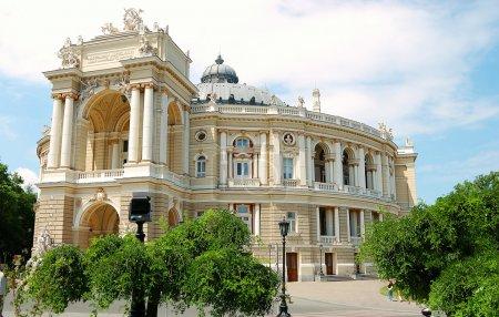 Odessa. Ukraine. theater
