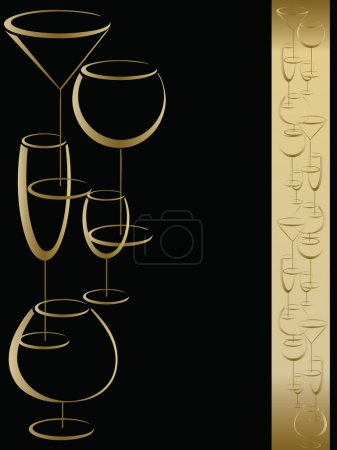 Cover of wine card menu
