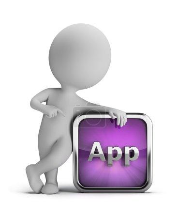 3d small - app icon