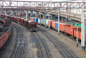 Industrial landscape of Odessa city port