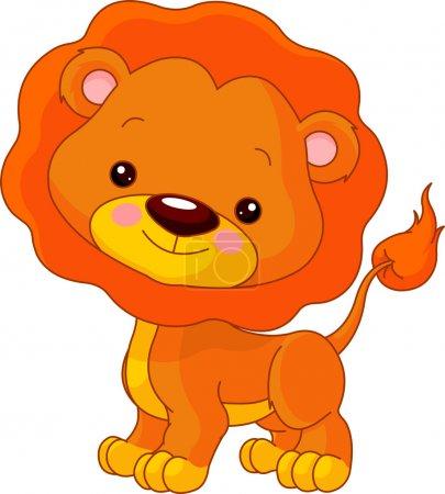 Fun zoo. Lion