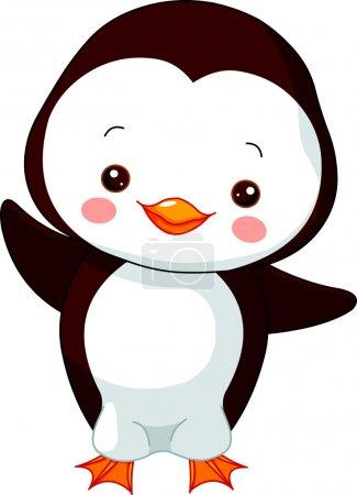 Fun zoo. Penguin