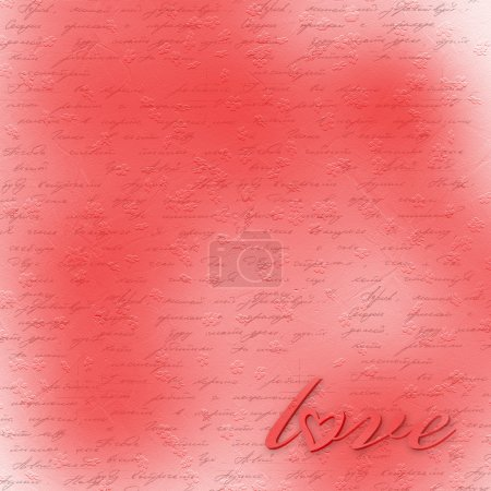 Red abstract backdrop for greeting card to holiday