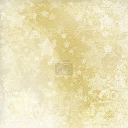 Light golden watercolor brush strokes for grunge background