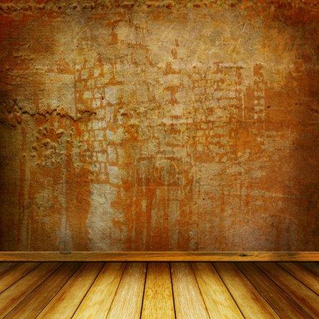 Foto de Interior de la habitación vieja con los restos antiguos de lujo - Imagen libre de derechos