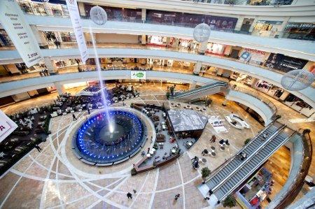 Photo pour Centre commercial bigest Moscou shopping center afi - image libre de droit