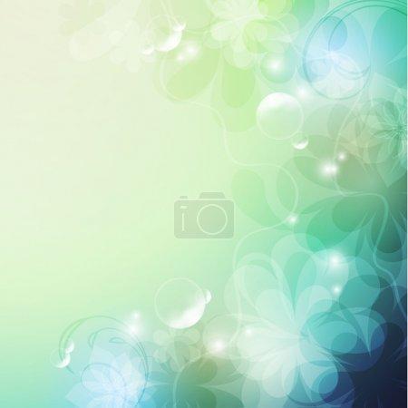 Illustration for Elegantly floral background, eps10 format - Royalty Free Image