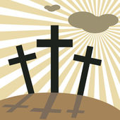 Good Friday Easter Day Crosses