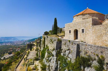 Old fort in Split, Croatia