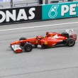 Постер, плакат: SEPANG MALAYSIA APRIL 8: Fernando Alonso team Scuderia Ferra