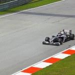 SEPANG, MALAYSIA - APRIL 8: Rubens Barrichello (te...