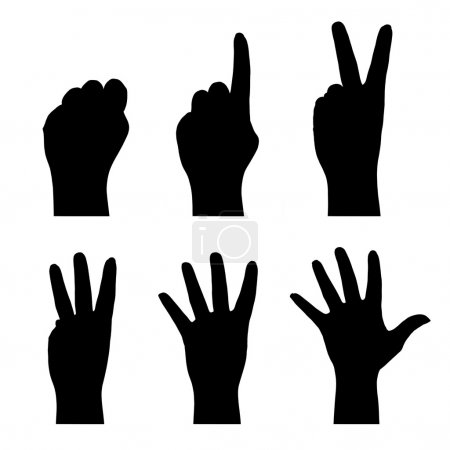 Counting hands (0 to 5)